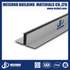 15mm joint width extruded aluminum concrete movement joints