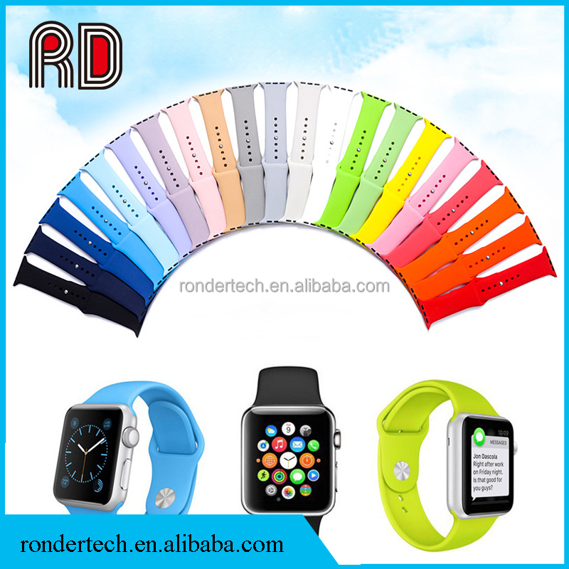 Changeable Silicone Watch Band Women Men Sports Watch Strap Outdoor