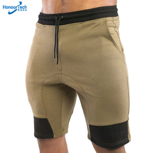Wholesale Dry Fit Outdoor Slim Fit Breathable Cotton Blank Mens Gym Shorts