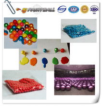 Tournament grade paintball for professional players / Biodegradable paintballs with various color