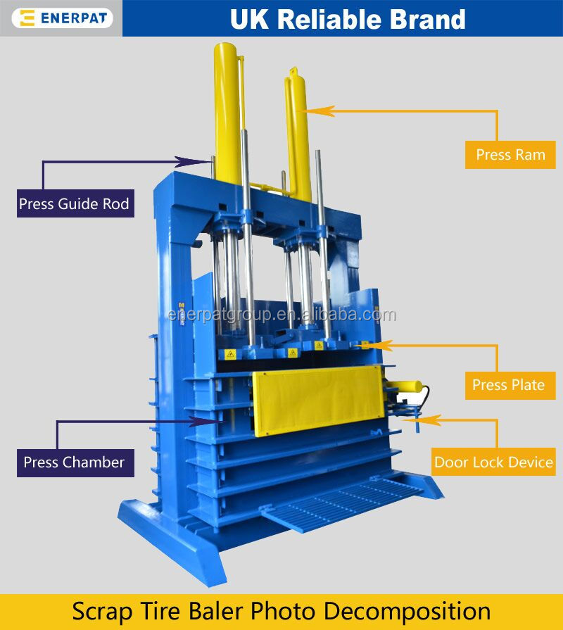 scrap tyre supplier in uae/scrap tyre suppliers in dubai/tire baler machine