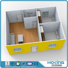 Modern Hoking Steel Structure Prefabricated Luxury Mobile Villa