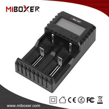 MiBoxer New 2 Slots Battery Charger C2-3000 For 18650 Battery 4.2V Rechargeable Li-Ion Battery Charger