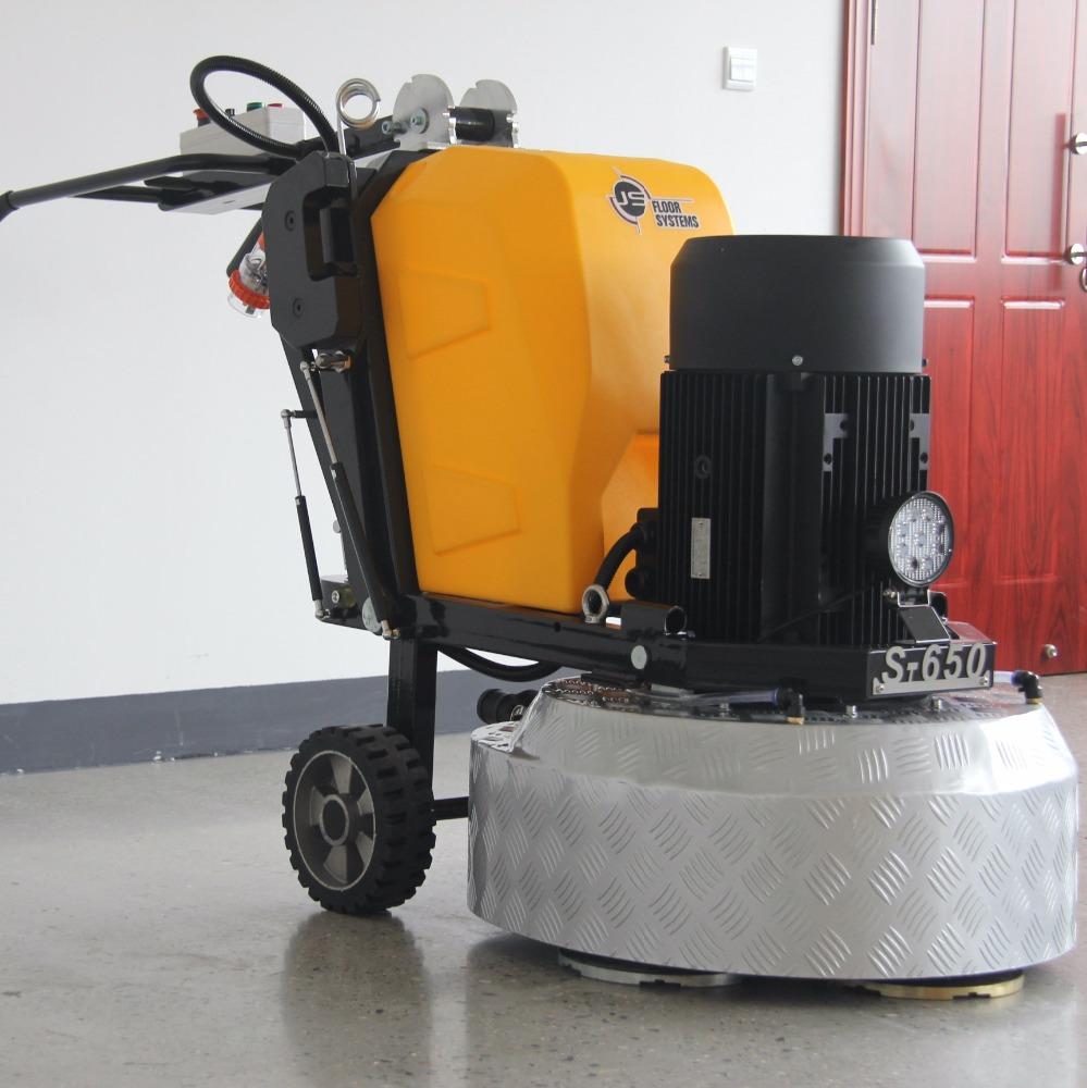 S650 planetary concrete floor polisher belt grinder machines for sale , terrazzo concrete floor grinder