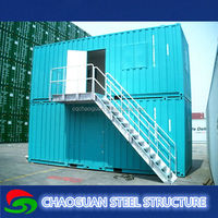 Modern design multilayer prefabricated living mobile container house at low loss