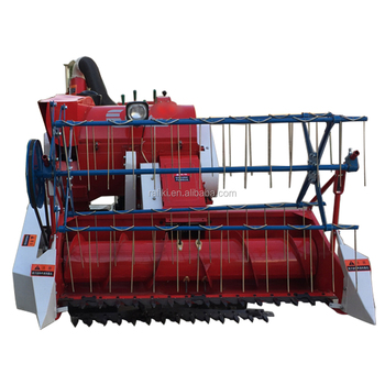 Small Farm Equipment Rice Cutting Machine/ Crawler Walking Combine Harvester