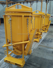 Wholesale of concrete kibble bucket 0.5CBM capacity ideal for narrow access room