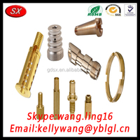 Hardware Factory Customized Stainless Steel/Brass/Aluminum CNC Turning Parts, Machine Turned Parts For Robots Pass ISO/TS16949