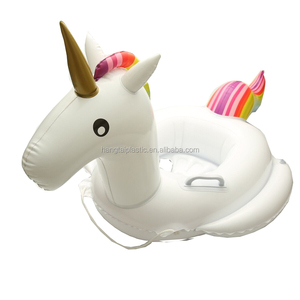 2018 Baby Pool Float Summer New Unicorn Inflatable Rafts Swim Ring Swimming Pool Toys for Kids