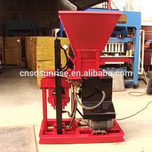 hydraulic for garden soil block / Adobe paver brick block machinery price