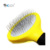 Pet slicker brush with soft handle for cats