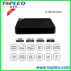 2GB 8GB Mini M8SII Amlogic S905 Quad Core Android 6.0 TV Box mini m8s