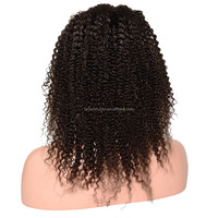 100 Human Hair African American Afro Wigs