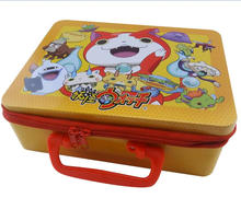 Festival promotional kids lunch tin box with lock