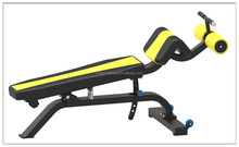 2017 hot selling commercial gym equipment/strength training machine/JG-1607 Adjustable Abdominal Bench