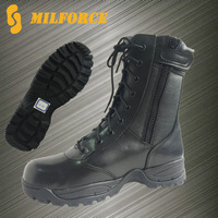 OEM/ODM welcomed classical stylish genuine leather custom made military boots