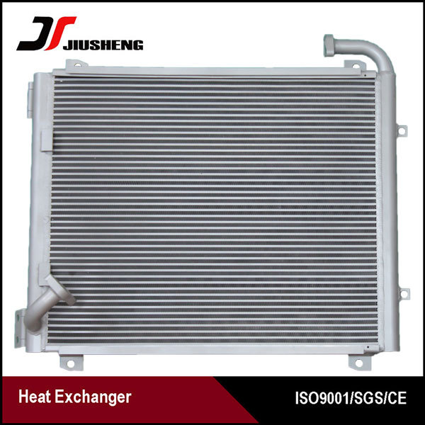 Aluminum Excavator Parts Hydraulic Oil Cooler For Komatsu PC200-7