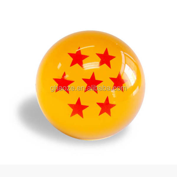 Acrylic Ball Keyring 7 Star Dragon Ball Keychain Factory