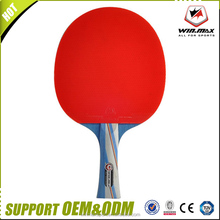 Winmax promotion yard sport table tennis paddle 5 stars single table tennis racket with case