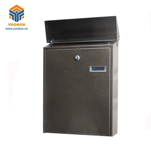 hot sale metal waterproof wall mount letterbox