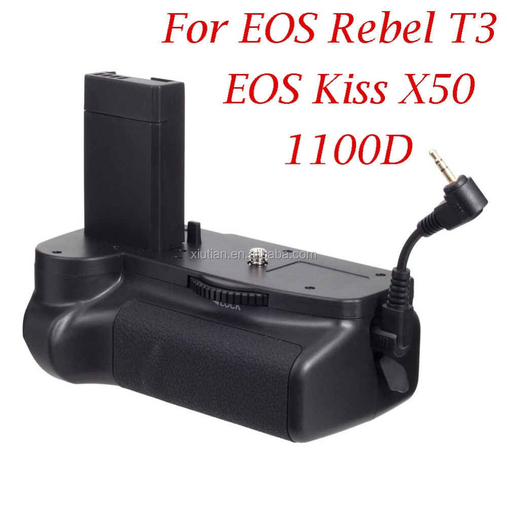 Pro Vertical Battery Grip for Canon 1100D / EOS Rebel T3 / EOS Kiss X50