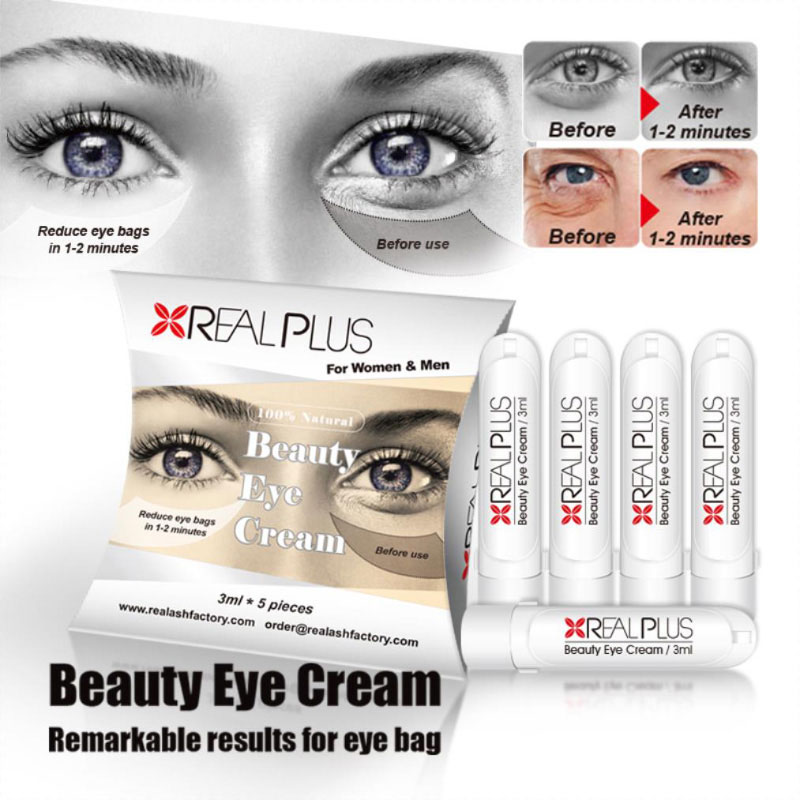 Immediate result no side effect customized best eye bag removal cream
