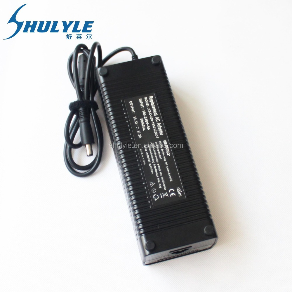 Genuine Laptop AC Charger for Dell 19.5V 12.3A PA-9E Alienware M18X M15X