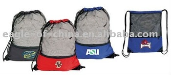 nylon mesh drawstring bag