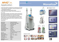 non-surgical skin tightening machinery.Dsurgical instrument.ermaroller, IPL, Laser Hair Removal with TGA/FDA