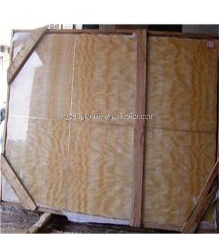 China wholesale high quality chinese yellow onxy marble tile onxy