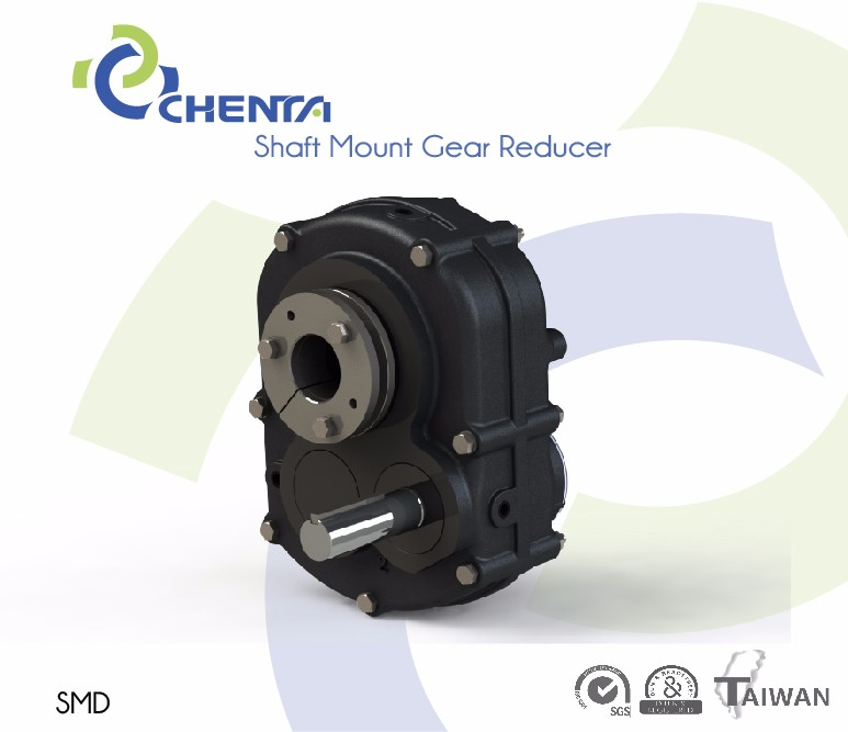 Extension Shaft Mounted Gear Speed Reducer with high torque