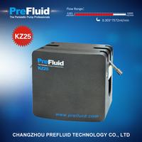 Prefluid KZ25 Dispensing Pump head, dosing pump setup