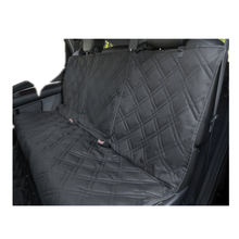 "Black Non-Slip Backing Wide Pet Seat Cover With Zipper Flap , Machine Washable , Waterproof , 57""L x 55""W"
