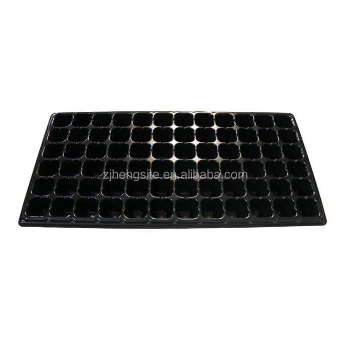 72 cells plant seed plastic growing trays