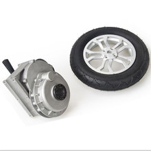 Brushless wheel motor/electric vehicle for disabled people