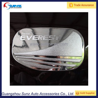 Everest 2015 Philippines ABS Chrome Gas Fuel tank cap Plating Trims Thai Fit For Ford New Everest SUV 2016