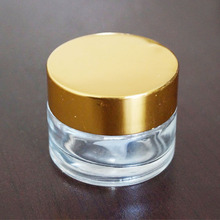 100ml clear glass cosmetic packing jar cream container Z06