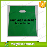 Promotional Customized Logo Pp Nonwoven Shopping Bag for Supermarket, Good quality 120gsm material non woven bag cheap price