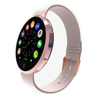 Round screen mobile watch phones smart sim BT360 compatible IOS and Android phone