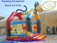 Fwulong inflatable bounce house for toddlers