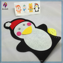 New Christmas Theme Sewing Hand Puppet For Xmas Role Play & Craft Activities With Penguin, Reindeer, Snowman, Santa Clause