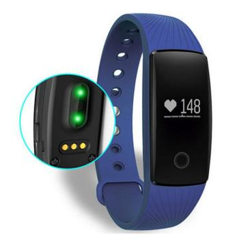 2016 Health Sleep Monitor Bluetooth Smart Bracelet band Heart Rate Monitor id107 Wristband for ios android
