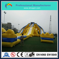 the world's largest inflatable water slide, trippo inflatable water slide, commercial grade trippo slide for sale