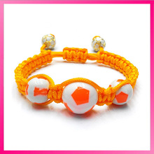 Macrame friendship round ball bracelet