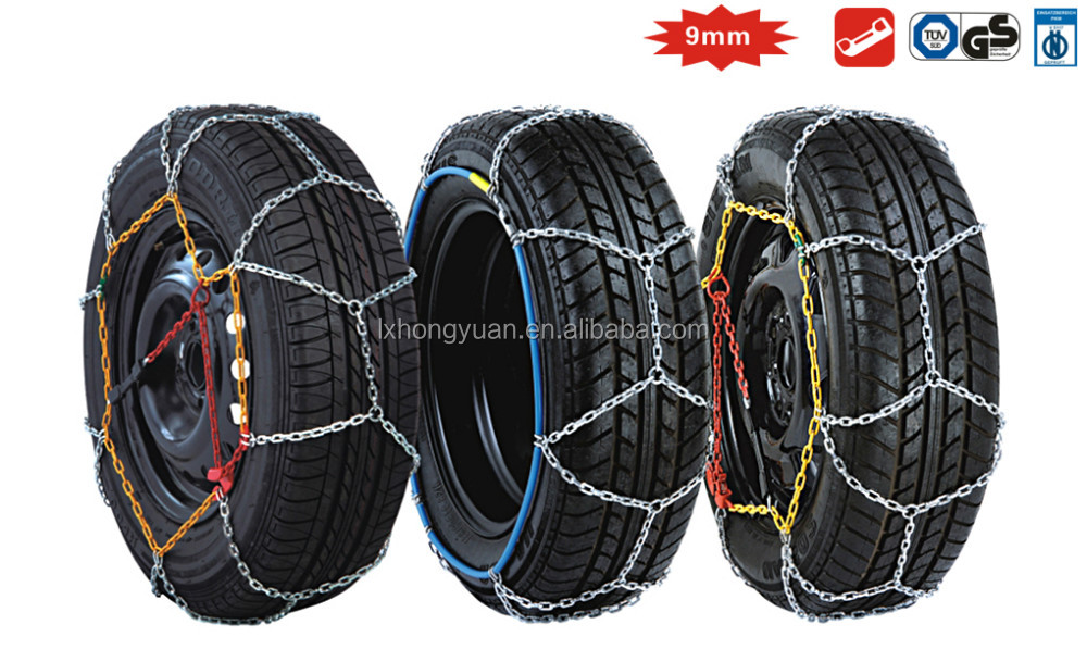 12MM iron universal size car snow chain motorcycle tire chains