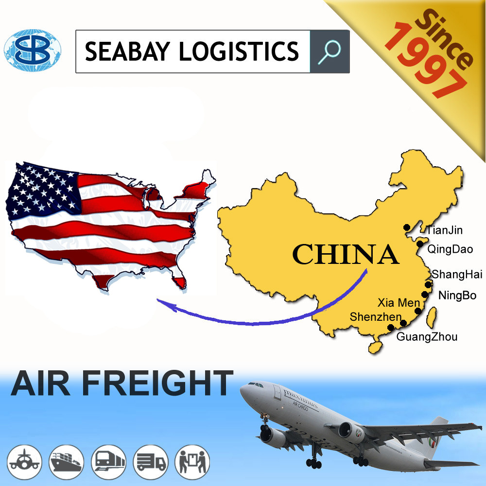 Cheapest air shipping service from china to chicago/cincinati/Indianapolis