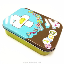 Various custom electronic cigarette gift tin box