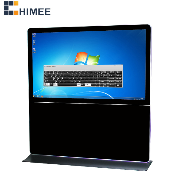 84inch lcd industrial electronic information kiosk computer