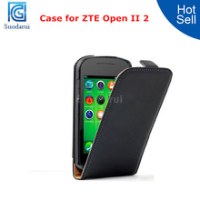 High Quality Filp Leather Case for ZTE Open II 2 Phone Cover