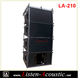 "LA-210 10"" Passive Line Array Sound System Speaker Box"
